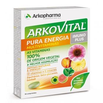 ARKOVITAL PURA ENERGIA MULTIVIT COMP X30 COMPS EQUINACEA (ECHINACEA PURPUREA)