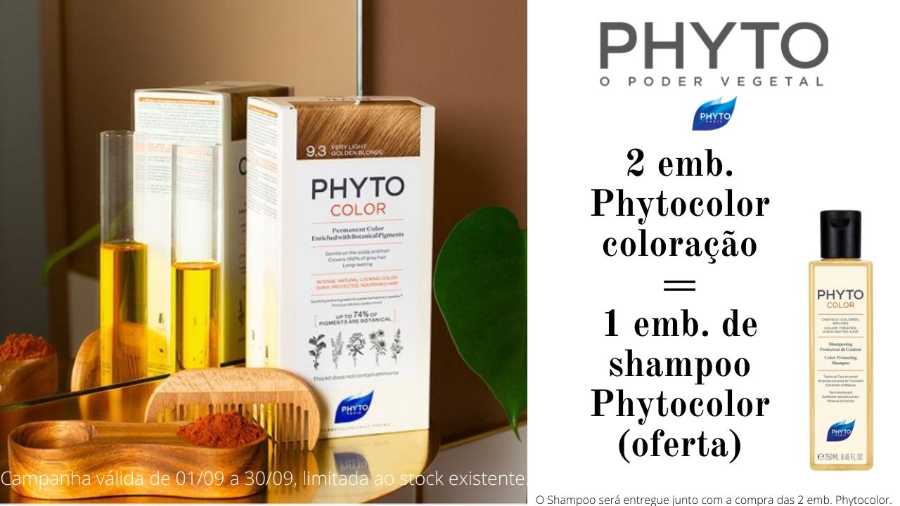 oferta shampoo na compra de duas colorações
