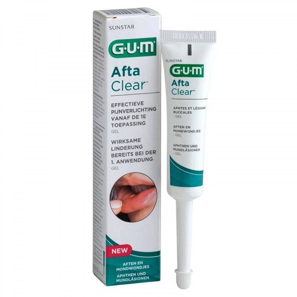 GUM AFTACLEAR GEL 10 ML