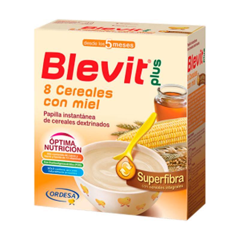 BLEVIT PLUS S FIBRA 8 CEREAL Y MIEL 600