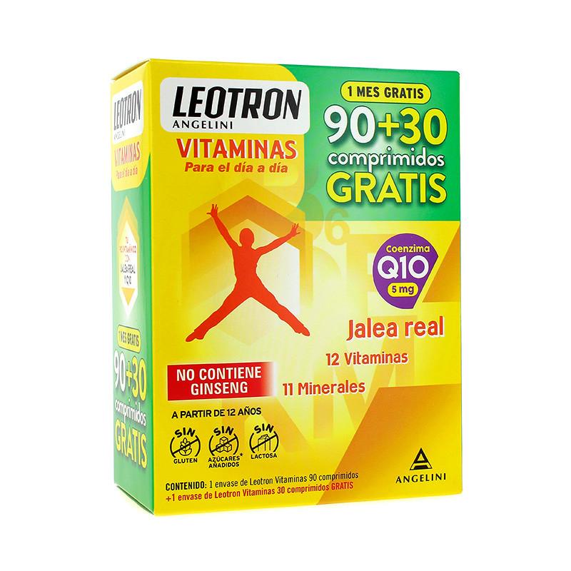 LEOTRON VITAMINAS COMPLEX 90+30 COMPRIMIDOS GRAT