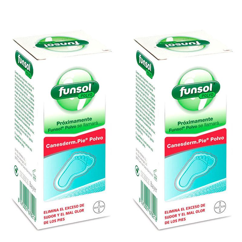 FUNSOL POLVO DUPLO 2X60GR