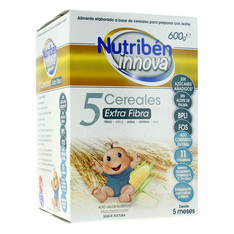 NUTRIBEN PAP INNOVA 8 CER EXTRAFIB 600 G
