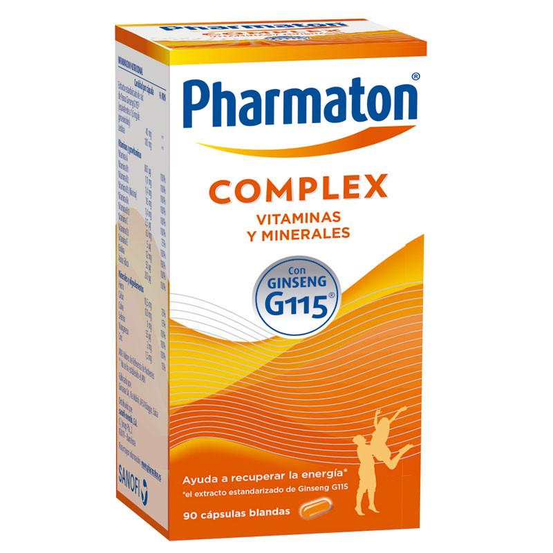 PHARMATON COMPLEX 90 CAPSULAS( 60+30)