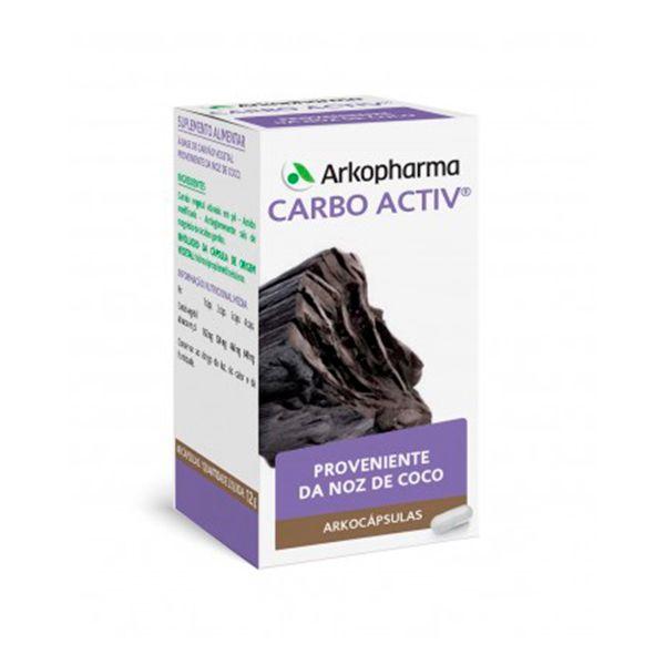 ARKOCAPSULAS CARBO ACTIV CAPS X48 CAPS(S) CARVAO VEGETAL