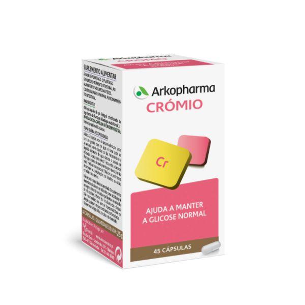 ARKOPHARMA CROMIO CAPS X45 CAPS(S) CROMIO (CLORETO)