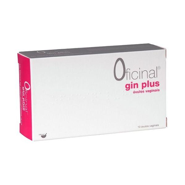 OFICINAL GIN PLUS OVULO VAGINAL X 10