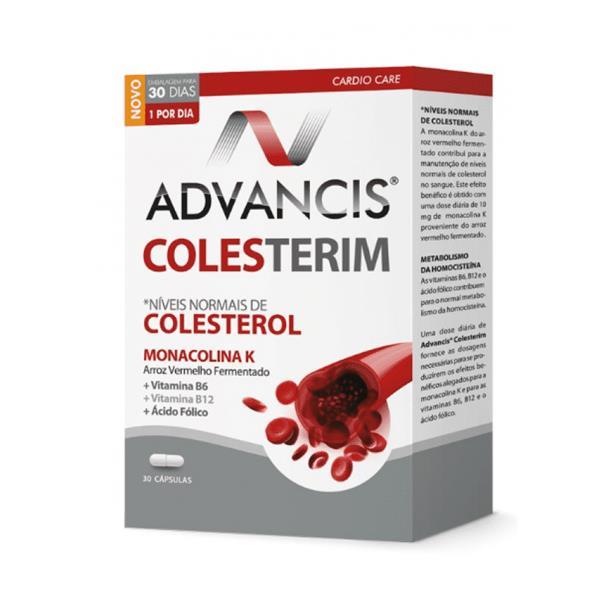 ADVANCIS COLESTERIM CAPS X30 FOLICO (ACIDO) (VITAMINA B9)