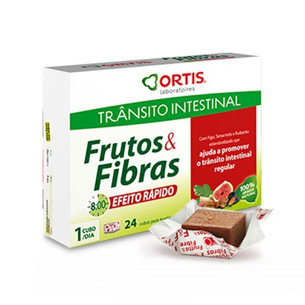 FRUTOS E FIBRAS EFEITO RAPIDO CUBOS X 24 GOMA GUAR (CYAMOPSIS TETRAGONOLOBUS)